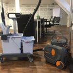 Wie ein sauberes Büro die Sicherheit am Arbeitsplatz verbessert